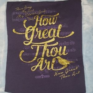 Dark purple Christian tshirt